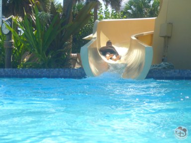 Pirate's Plunge Pool Slide