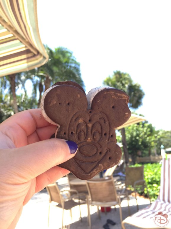 Mickey Ice Cream Sandwich
