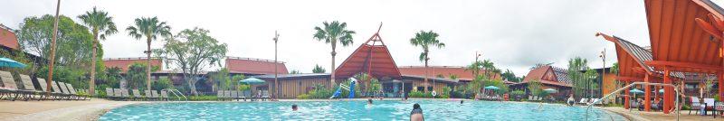 Oasis Pool - Polynesian Villas & Bungalows