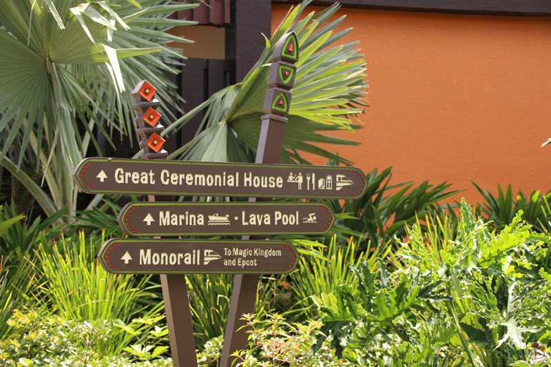 Tour around Disney's Polynesian Village Resort