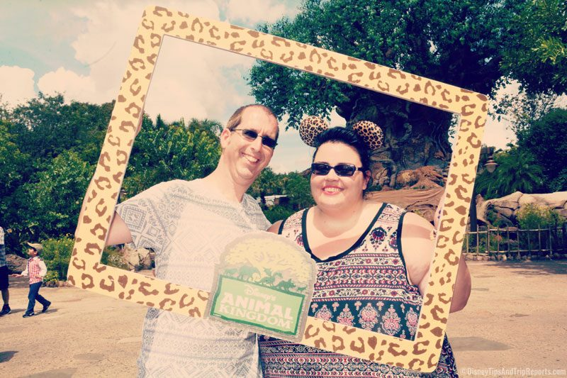 Us at Animal Kingdom
