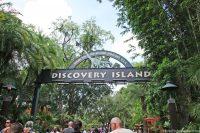 Animal Kingdom Discovery Island Sign