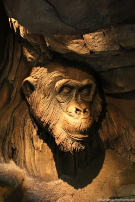 Tree of Life at Animal Kingdom - Chimp Carving