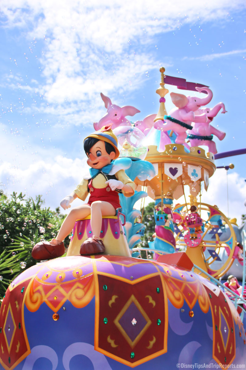 Pinocchio - - Festival of Fantasy Parade - Magic Kingdom