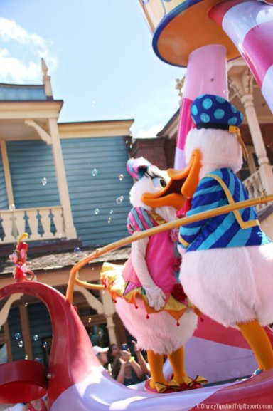 Donald & Daisy Duck - - Festival of Fantasy Parade - Magic Kingdom