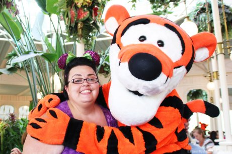Meeting Tigger at Crystal Palace