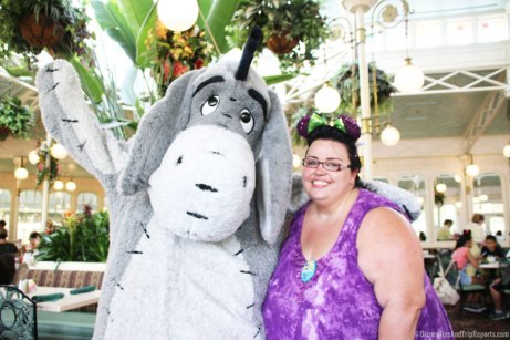 Meeting Eeyore at Crystal Palace