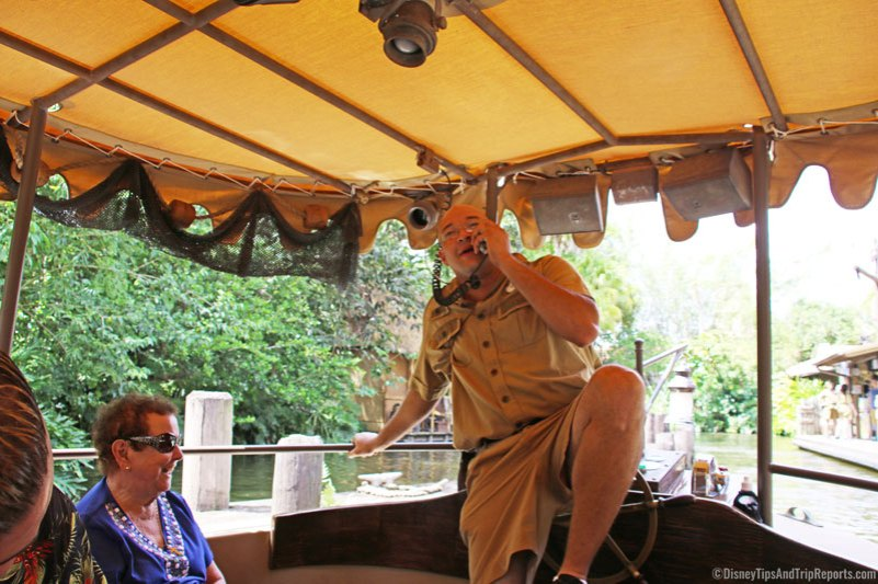 Magic Kingdom - Jungle Cruise Tour Guide