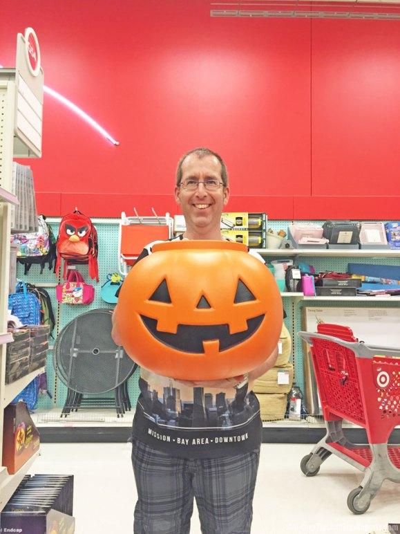 Shopping at Super Target - Jack o' Lantern