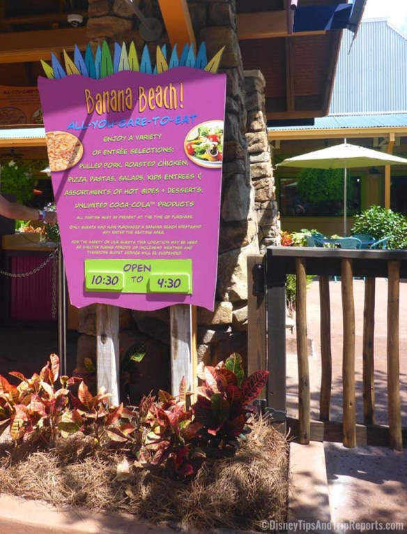 Aquatica - Banana Beach Cookout