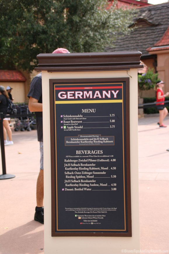 Germany - Epcot Food & Wine Festival