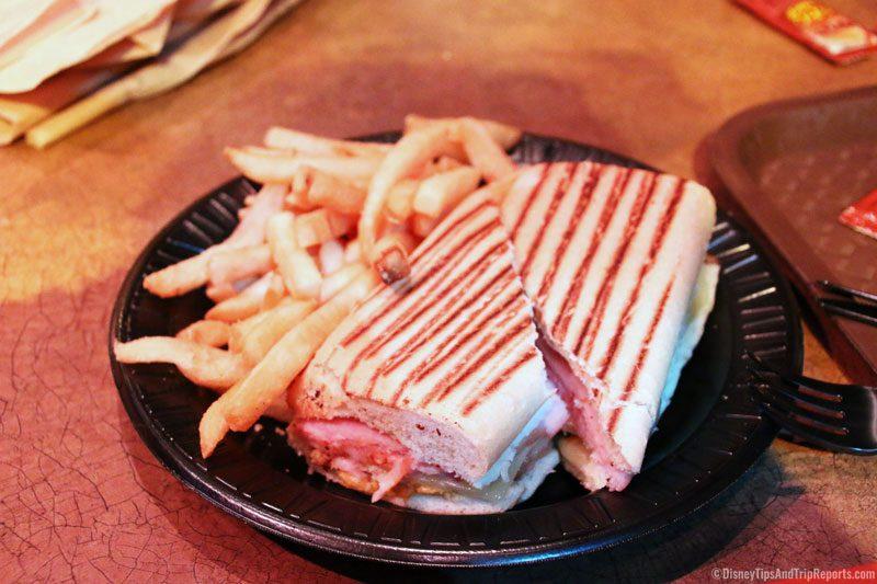 SeaWorld Orlando - Seafire Inn - Cuban Sandwich