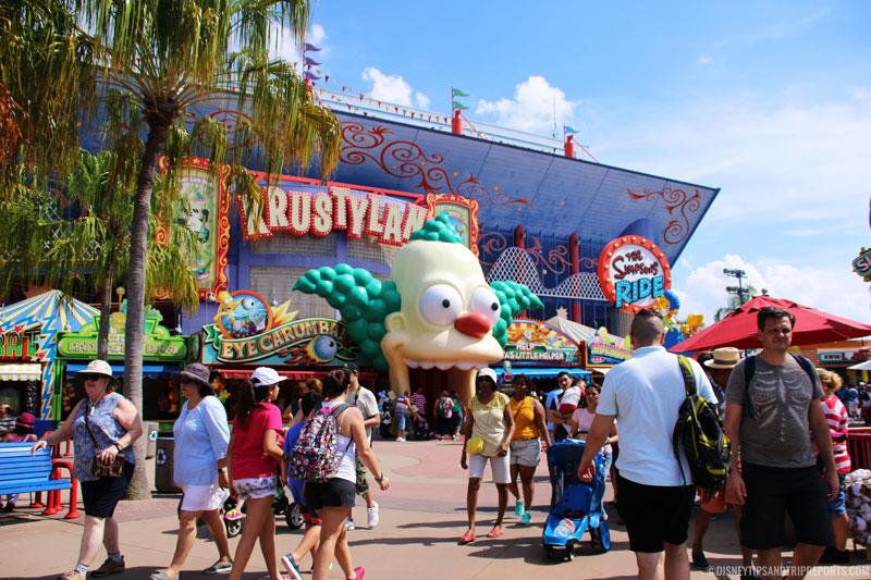 Springfield USA, Universal Studios, Orlando