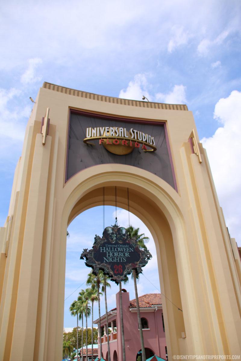 Universal Studios, Orlando - Entrance