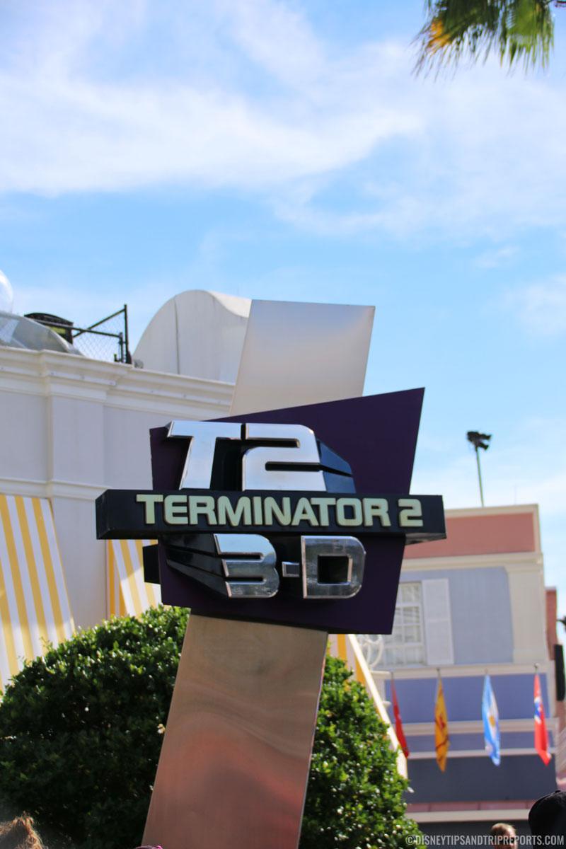 T2:3D Universal Studios, Orlando