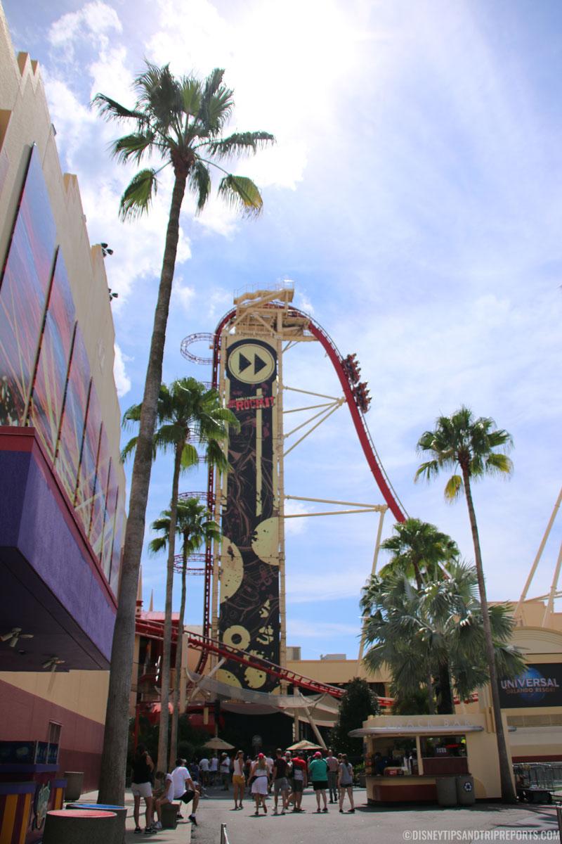 Rip, Ride Rockit - Universal Studios, Orlando