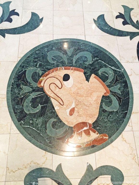 Chip Floor Mosaic - Grand Floridian