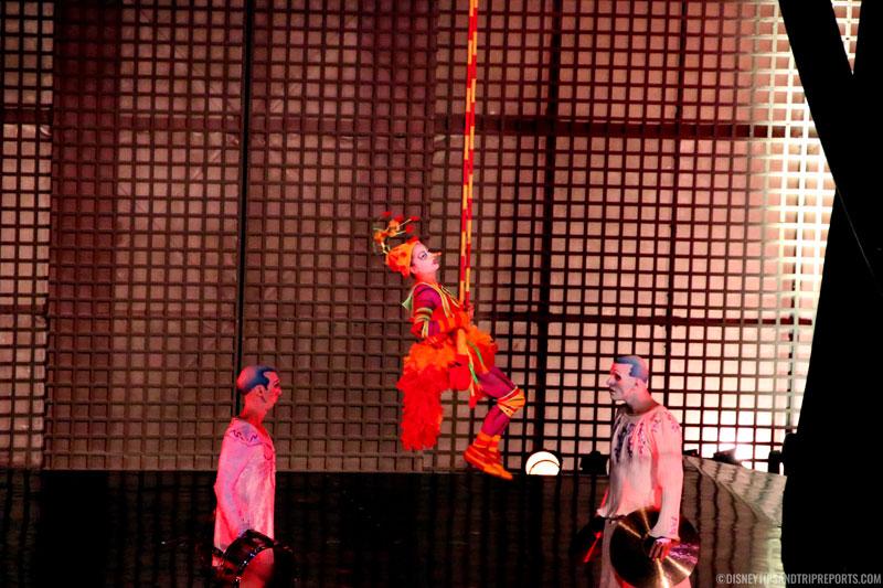 The Green Bird - Cirque Du Soleil - La Nouba