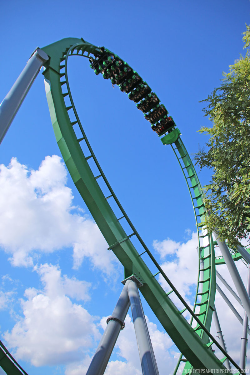 The Incredible Hulk Coaster - Islands of Adventure
