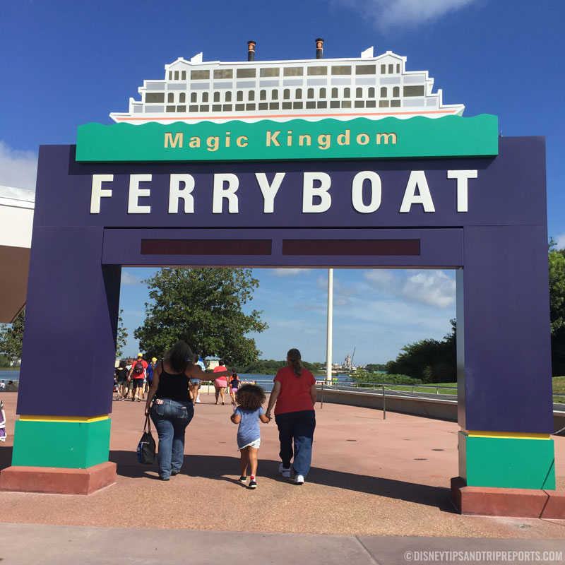 Magic Kingdom - Ferryboat Entrance