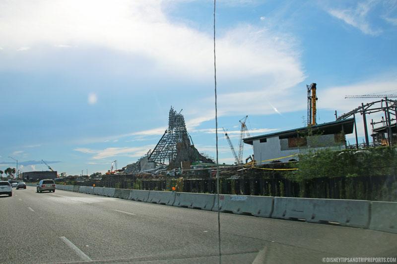 Volcano Bay - Under Construction