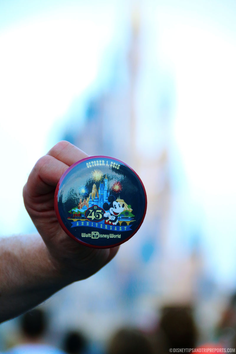 45th Anniversary Badge, Walt Disney World