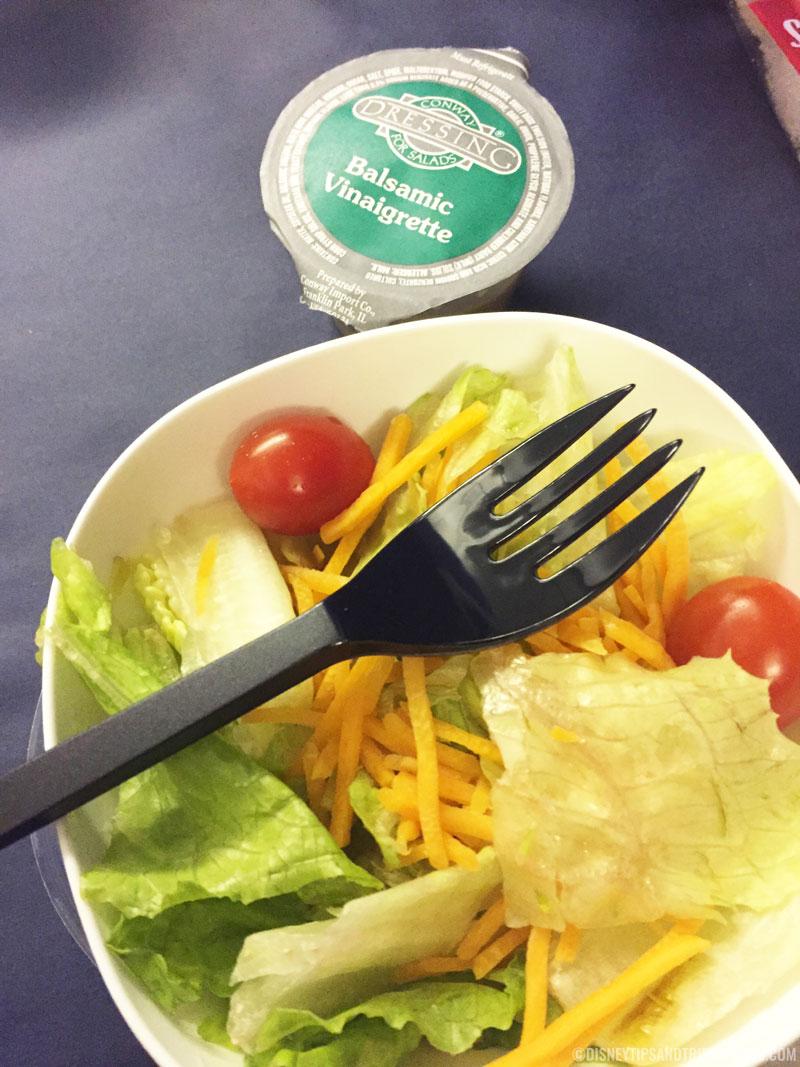 British Airways Food - Salad