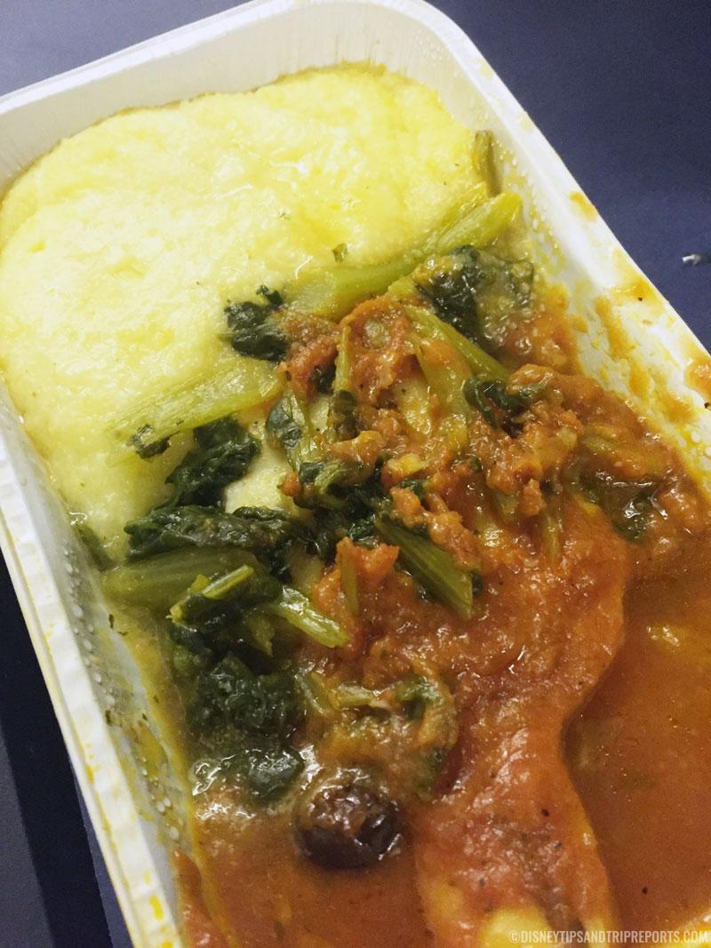British Airways Food - Curry