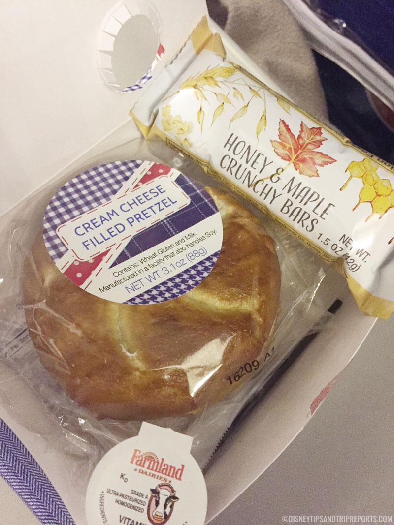 British Airways Food - Breakfast Box