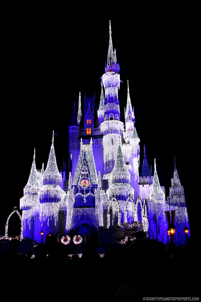 Cinderella Castle Ice Lights