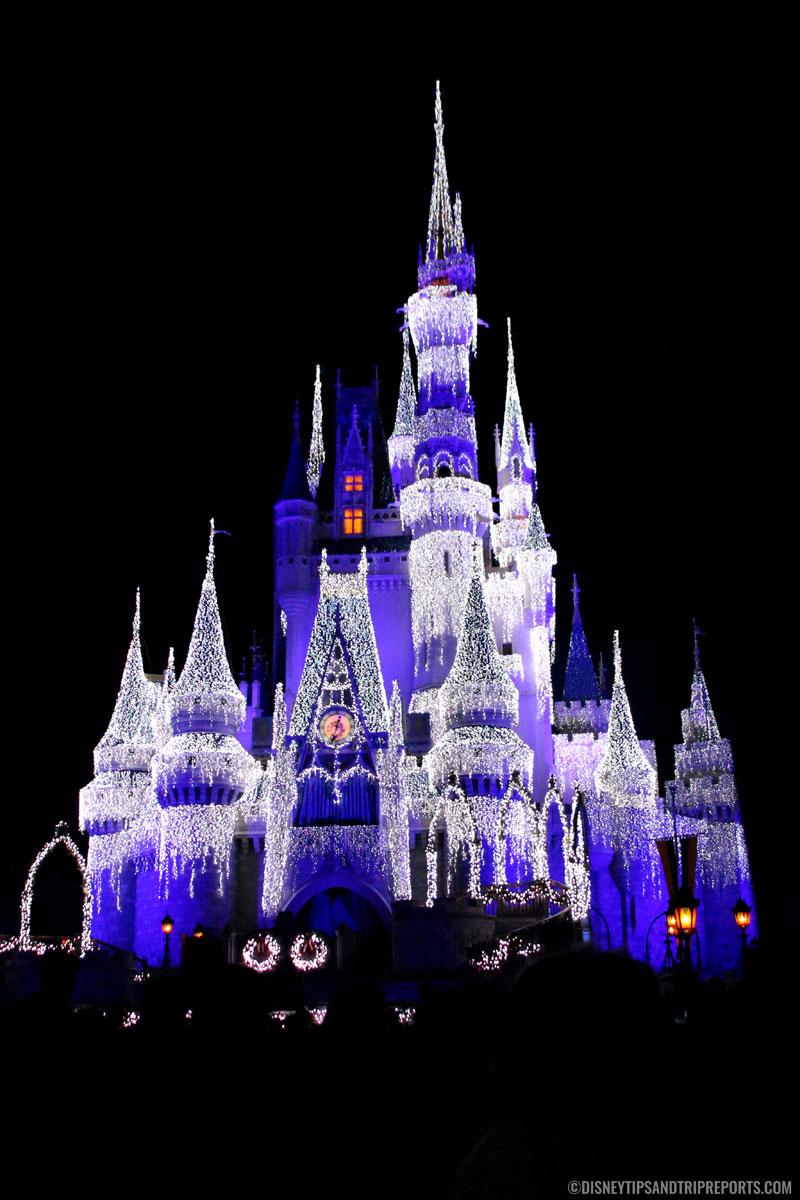 Cinderella Castle Ice Lights