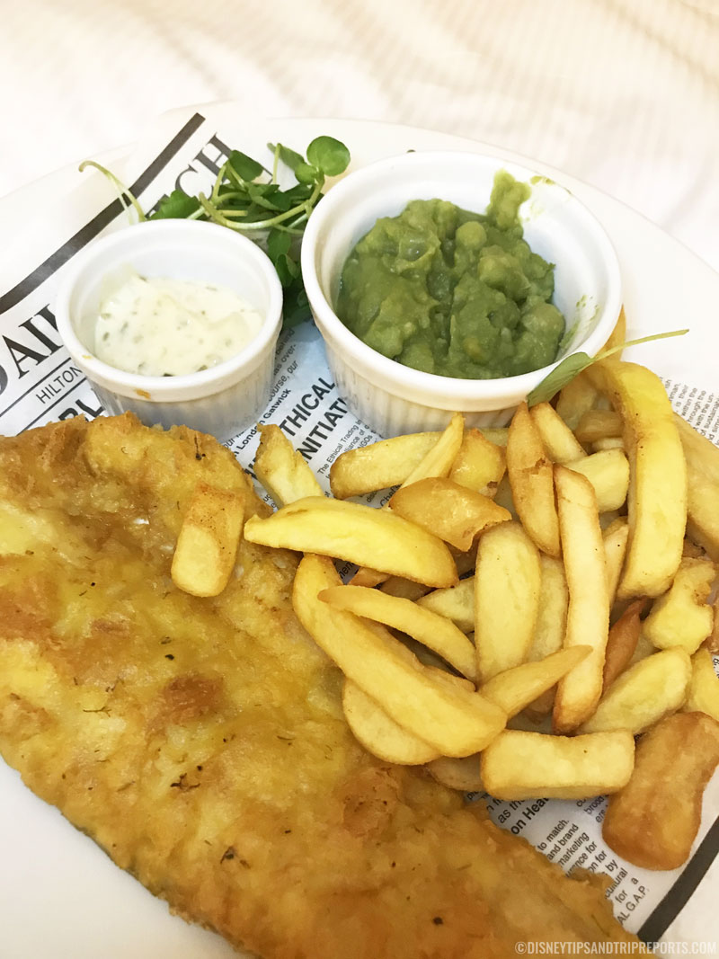 Fish & Chips - Hilton London Gatwick Airport Hotel