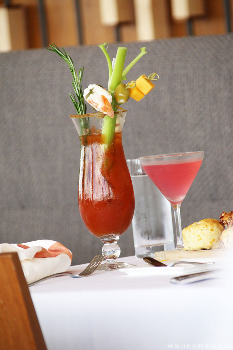 Bloody Mary - Sunday Brunch at California Grill