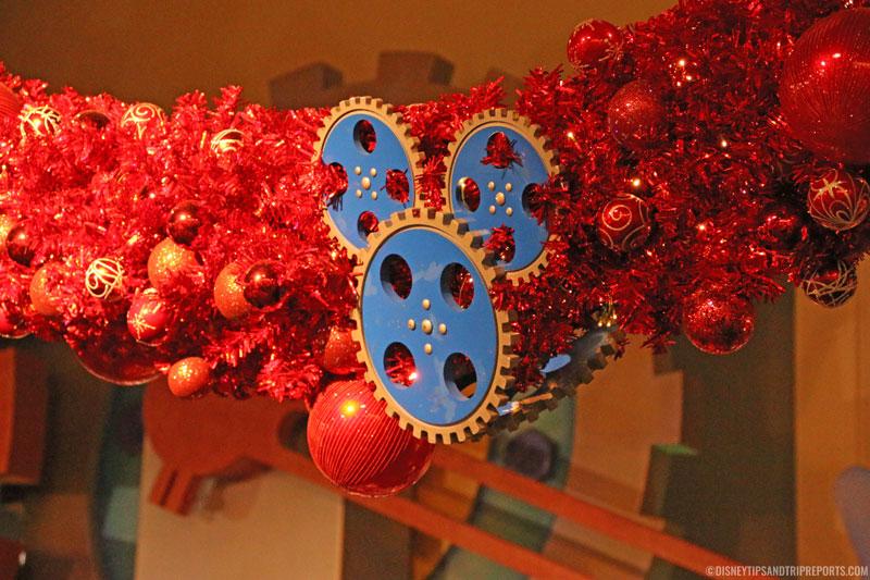 Epcot Christmas Garland