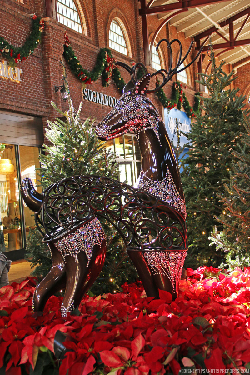 Disney Springs Jewelled Reindeer