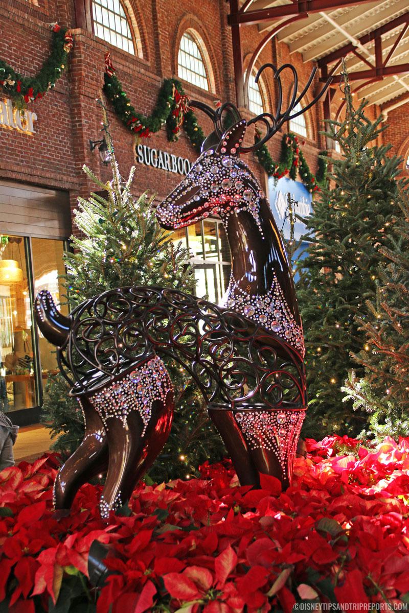 Disney Springs Jewelled Reindeer