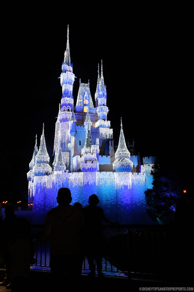 Cinderella Castle - Mickey's Very Merry Christmas Party, Magic Kingdom