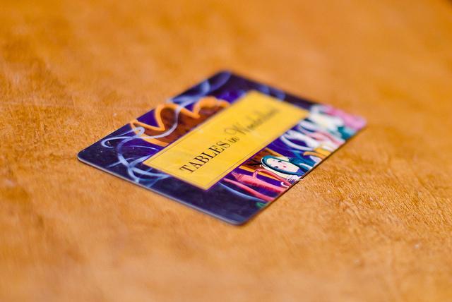 Tables In Wonderland Card Info Tips Disney Tourist Blog