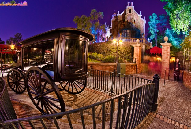 disney world haunted mansion photo