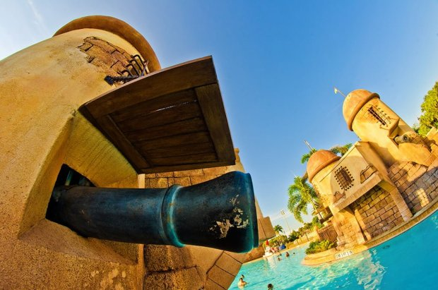caribbean-beach-resort-pool-cannon