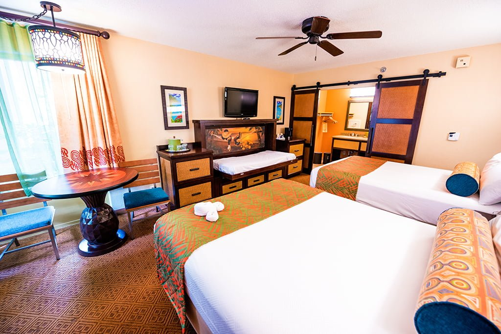 Caribbean Beach Resort Remodeled Rooms Disney World 2