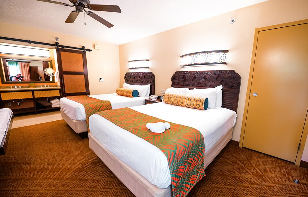 Hotel Room Sizes At Disney World Disney Tourist Blog