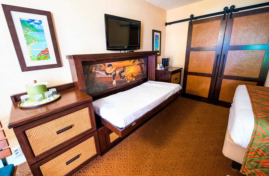 Caribbean Beach Resort Remodeled Rooms Disney World Fold