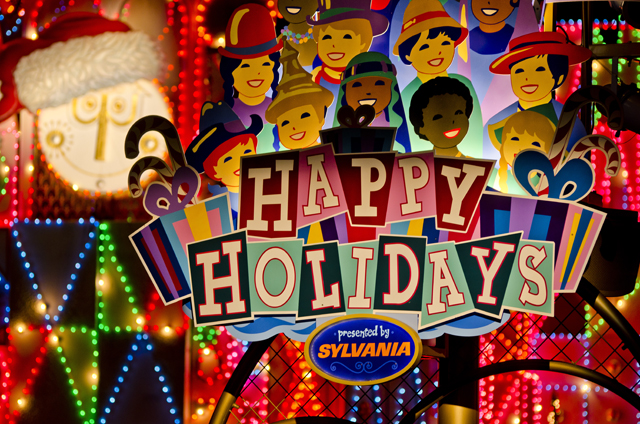 It S A Small World Holiday Photos Video Review Disney Tourist Blog