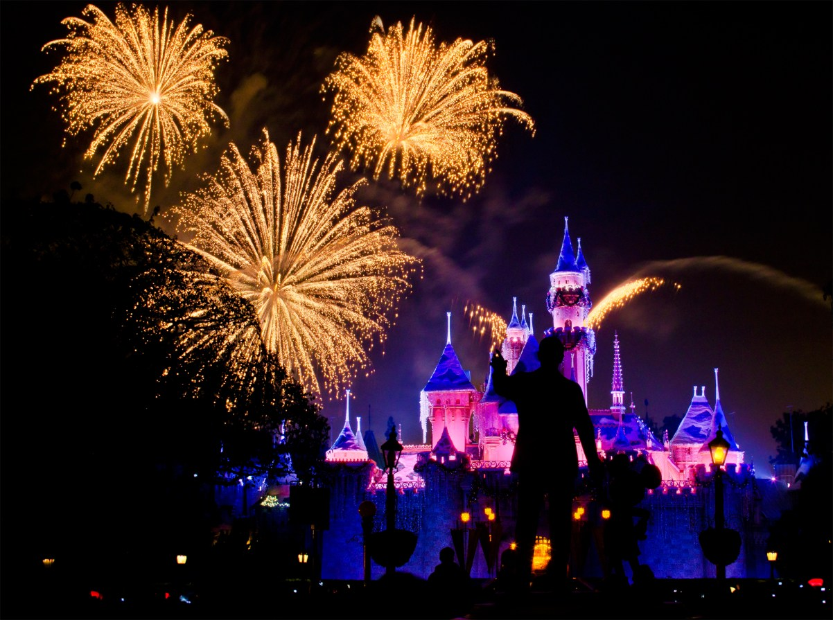 Disneyland Mickey Mouse Fireworks
