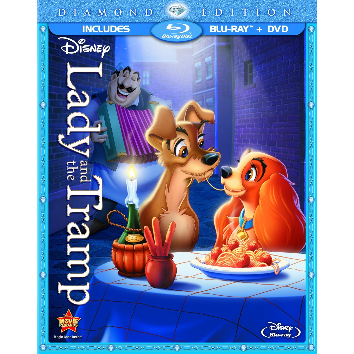 Lady And The Tramp Diamond Edition Blu Ray Review Disney Tourist Blog