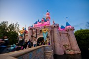 Sleeping Beauty Castle at Dusk on One More Disney Day