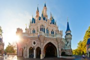 Cinderella Castle Backside - Walt Disney World