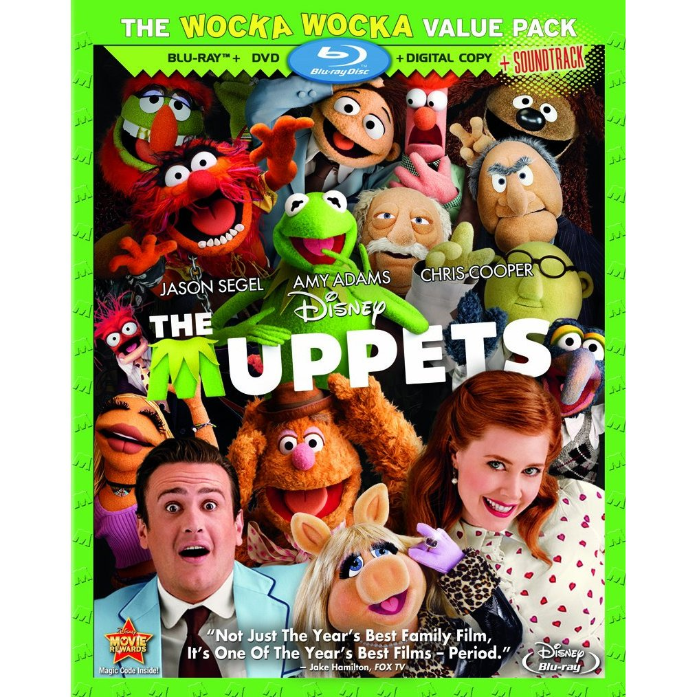 The Muppets Blu-ray Review - Disney Tourist Blog