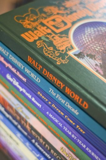 Reviews from a HUGE library of Disney Parks books, including where to find CHEAP old books!